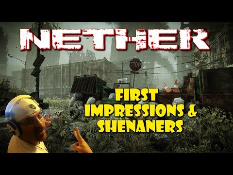 Nether Survival MMO - First Impressions & Shenaners | STRG |