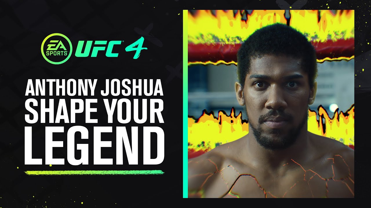 UFC 4 Play Now | Anthony Joshua | Shape Your Legend