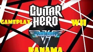 Gameplay Guitar Hero Van Halen Wii - Panama