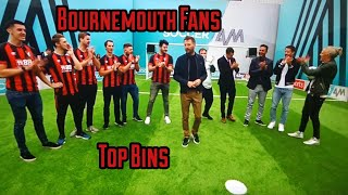 ⚽️BOURNEMOUTH FANS TOP BINS FT JAMIE REDKNAPP AND MIDO⚽️