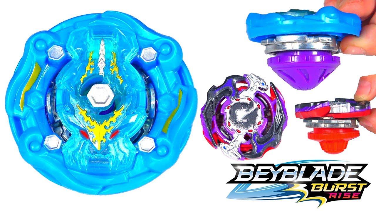 Beyblade Burst Rise Hypersphere Dual Pack Cosmic Kraken K5 and Gargoyle G5