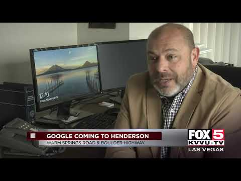 Google to build data center in southern Nevada