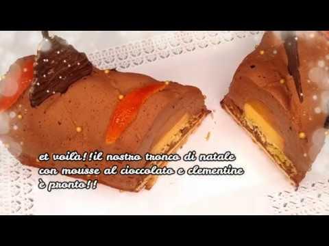 buche-de-noèl-chocolat-clementines -tronco-di-natale-cioccolato-clementine roseline-en-cuisine!