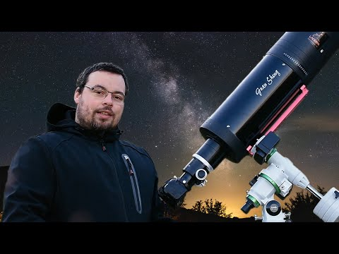 GSO Ritchey-Chretien 6'' With Skywatcher EQM35 PRO REVIEW-Deepsky And Planetary