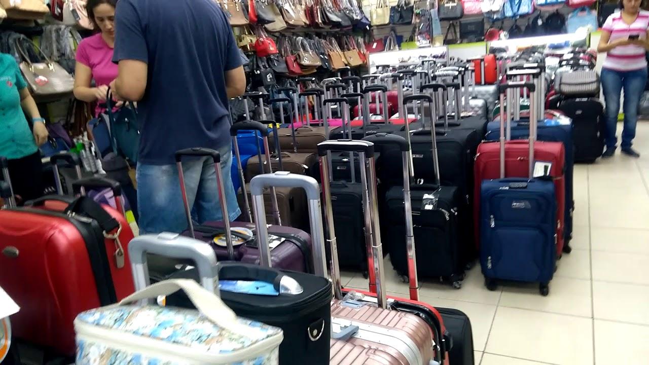 13fab795557dc Loja de Bolsas Chenson em CDE  Paraguai - YouTube