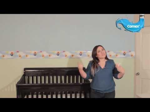 decora facil y rapido el cuarto de tu bebe con comex