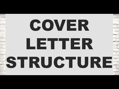 How Should You Structure A Cover Letter (Legal Cover Letters)