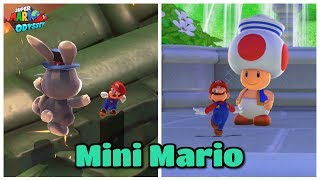 MINI MARIO in Super Mario Odyssey