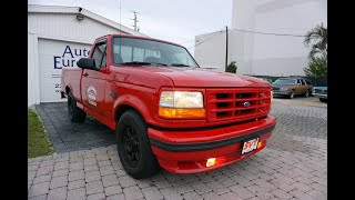 This 1993 Ford F150 SVT Lightning is a True Performance Truck, But What Exactly is the Point?