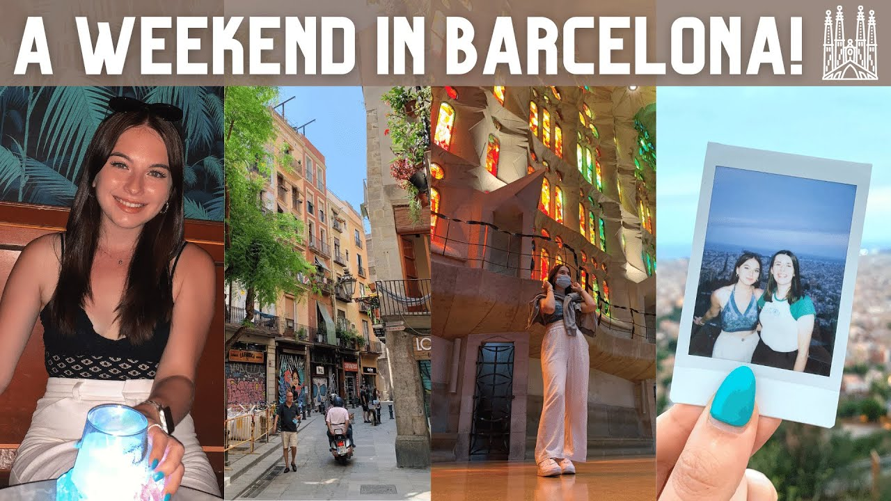the last ever year abroad vlog 💔 - a long weekend in Barcelona!