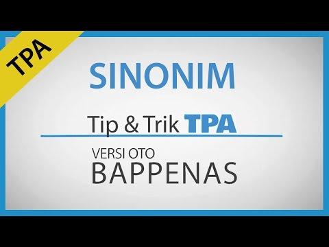 Tip & Trik Tes Sinonim