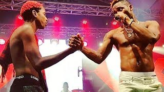 Eric Omondi Dances with Diamond Platinumz as They Perform Hit Song Salome