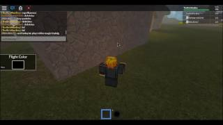 Show spells in Roblox Magic Training