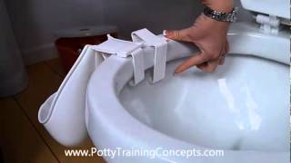 Potty Scotty WeeMan Urinal - How to tell if you need a longer clip