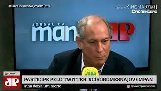 CIRO Gomes  dá um show nos neoliberais da Jovem Pan
