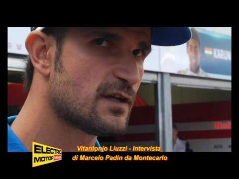 Vitantonio Liuzzi è fiducioso per la gara – Electric Motor News in Montecarlo