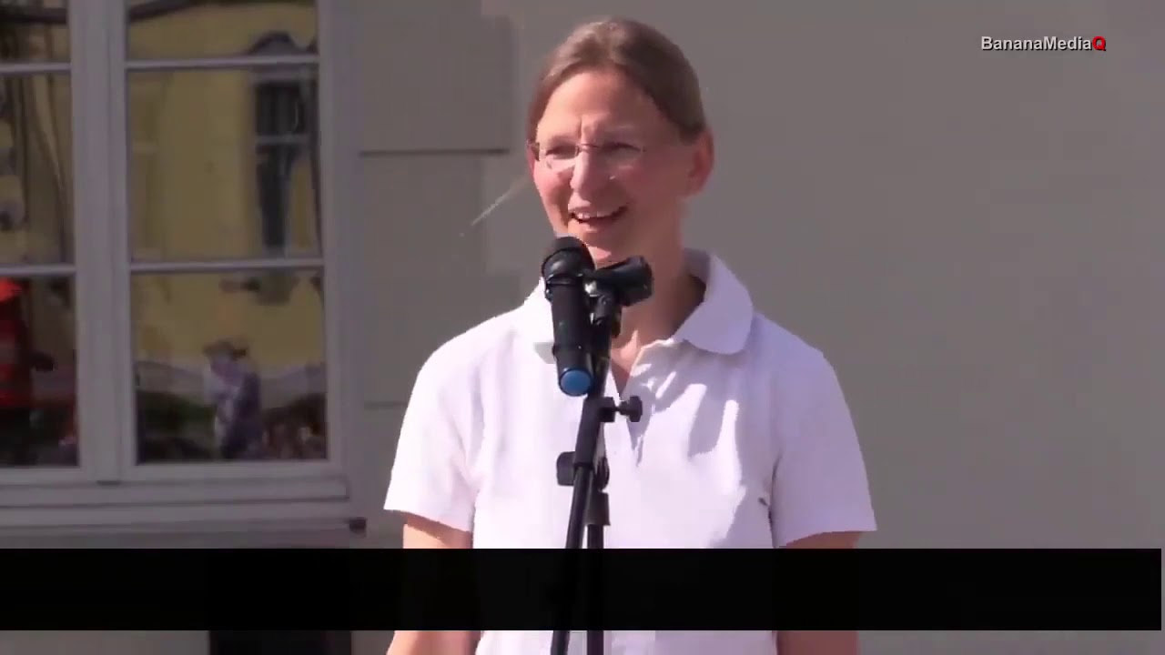 Doctorița nemțoaică Katrin Korb despre manipularea covid