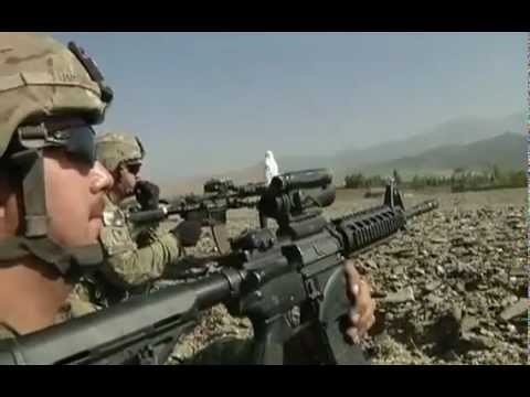 U.S. Army National Guard In Afghanistan