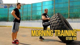 Morning training with Denis Cyplenkov / Dmitry