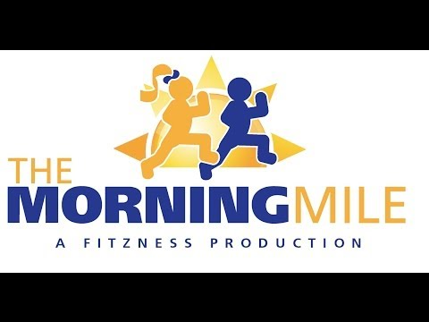 Morning Mile at Lupin Hill Elementary School
