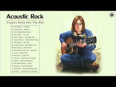 Acoustic Classic Rock 60s 70s 80s | Classic Rock Greatest Hits Playlist