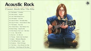 Download lagu Acoustic Classic Rock 60s 70s 80s | Classic Rock Greatest Hits Playlist
