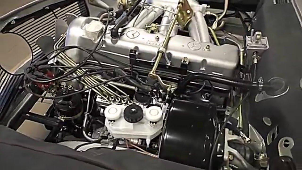 Mercedes Benz Pagoda W113 Engine Restoration Final