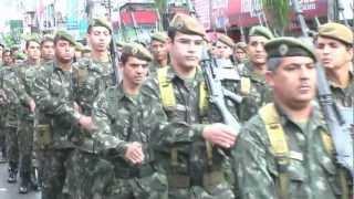 38º BI no Desfile Militar na comemoraç...