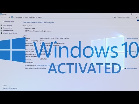 Activation Windows 10 Pro Product Key Free Latest 2018 ✔
