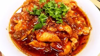 The Most Famous Sichuan Spicy Boiled Fish Recipe 水煮魚 CiCi Li - Asian Home Cooking Recipes