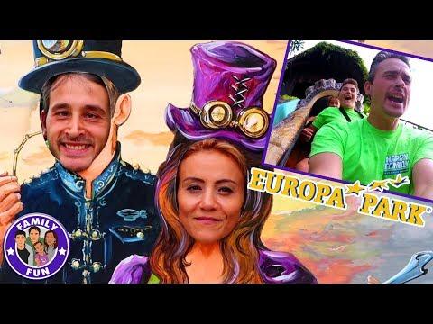 Download Youtube: MEGA EUROPA-PARK SPAß - Achterbahnen und Adrenalin Kicks - Teil 2 | Family Fun