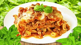 Italian Stuffed Canellonni Recipe with Zucchini & Mince