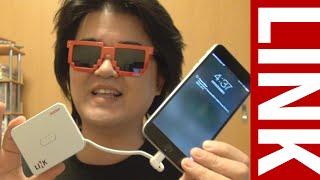 LINK Power Drive イメーションのLightning対応iPhone用メモリ兼モバイルバッテリー兼スマホスタンド