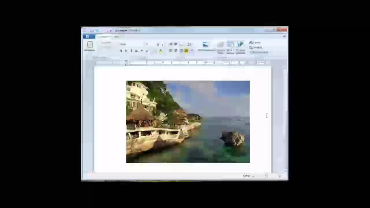 Как сделать презентацию в wordpad
