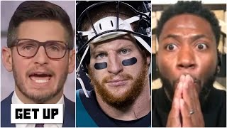 Dan Orlovsky: Carson Wentz won't take another snap for the Eagles ever again | Get Up