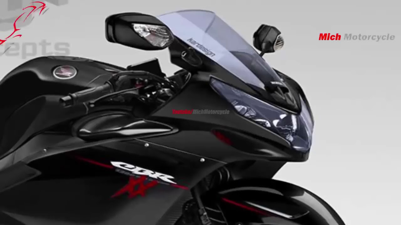 New cbr 1300xx super blackbird new motorcycle design by........... - YouTube