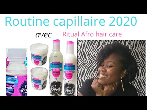 Routine capillaire 2020 avec ma gamme préférée 😍💖 || Ritual Afro Hair care ✌