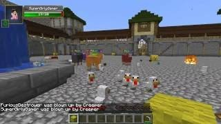 Minecraft FROZEN HUNGER GAMES Lucky Block Mod Modded Mini Game