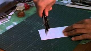 Tutorial - Cortar circulos en poliestireno (evergreen, plasticard )