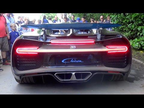 Bugatti Chiron Exhaust SOUND!!