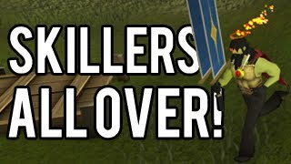 Runescape - Skiller-only Castle Wars! (Capture The Flag)
