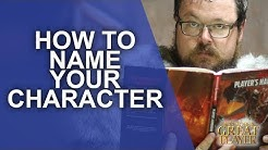 GREAT PC: Create Epic and Cool Names for your characters (Great Roleplaying Player Character Tips)