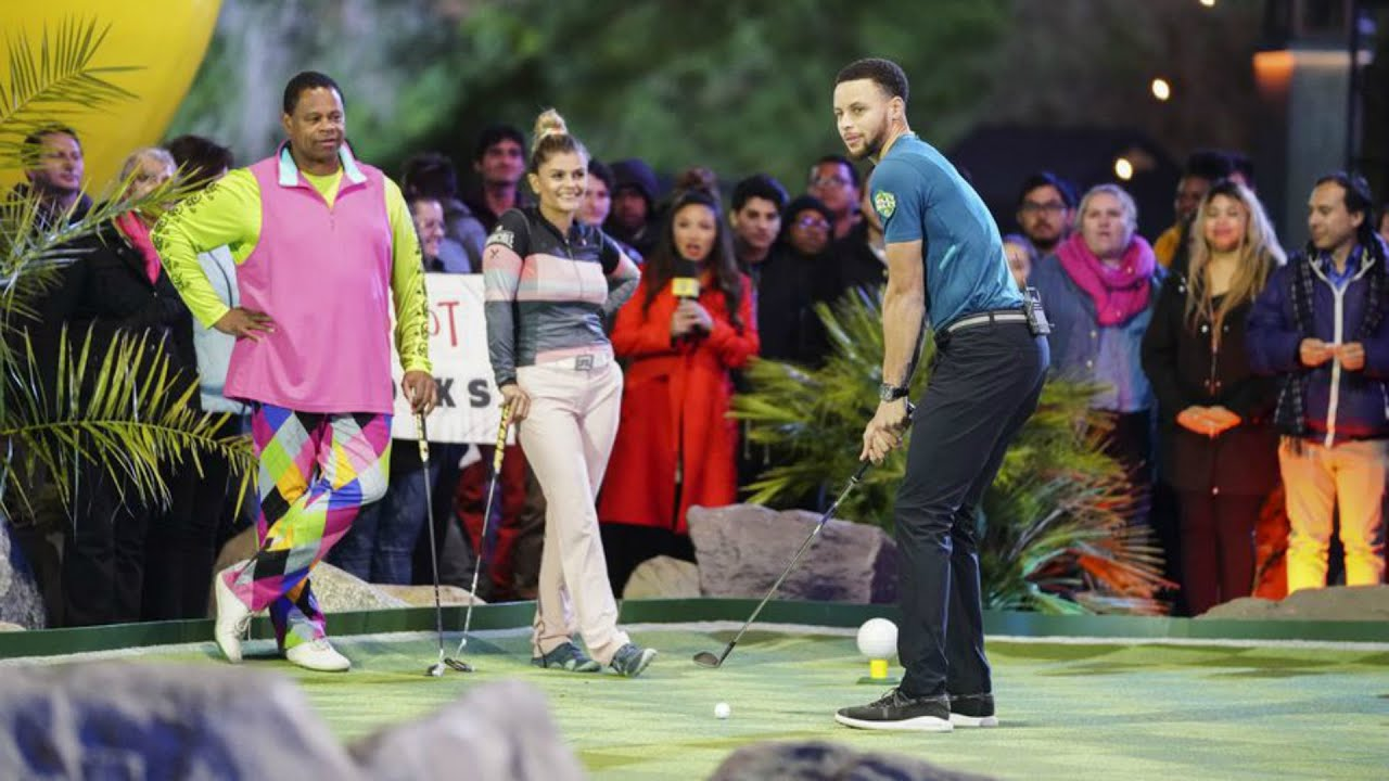 Holey Moley TV Show 2019: Preview Steph Curry's Mini Golf Show on ABC