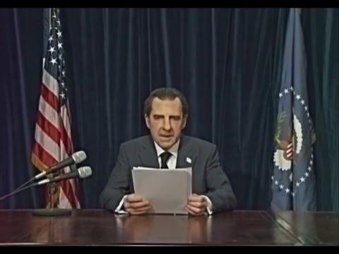 Harry Shearer...Channeling Nixon