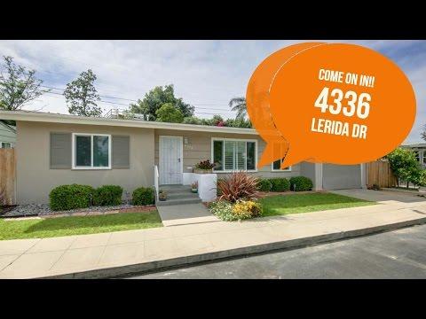 [SOLD   Rolando] 4336 Lerida Drive, San Diego, CA