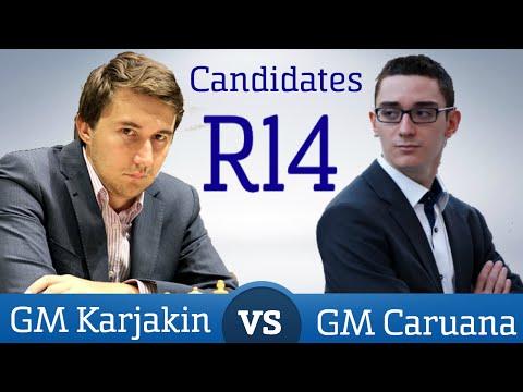 Karjakin - Caruana Round 14 Candidates 2016 | Chess Game Analysis
