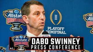 What Clemson's Dabo Swinney had to say after landing in New Orleans for Sugar Bowl vs Alabama