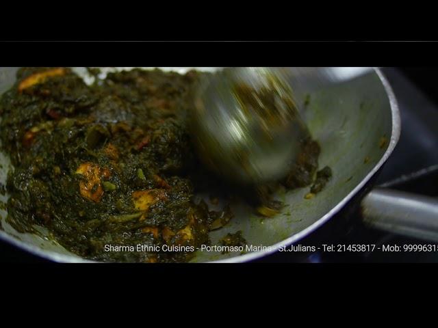Palak Paneer - Sharma Ethnic Cuisines