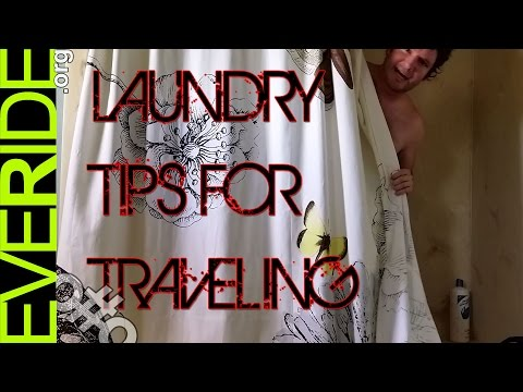 Travel Laundry: How to Wash Your Clothes While Adventuring o#o