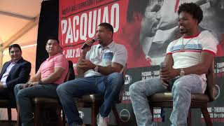 Marco Antonio Barrera, Erik Morales, Winky Wright & Shawn Porter on Pacquiao vs. Thurman